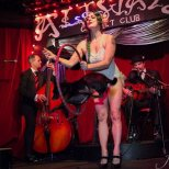 Miss Ooops C and The Famous Mr. Cheeze at Bayou Blues Burlesque